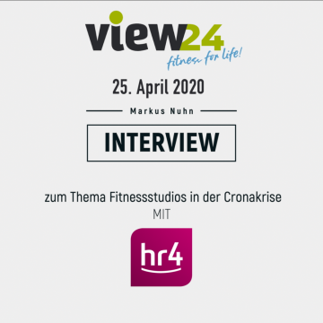 view24 Corona-Interview mit HR4
